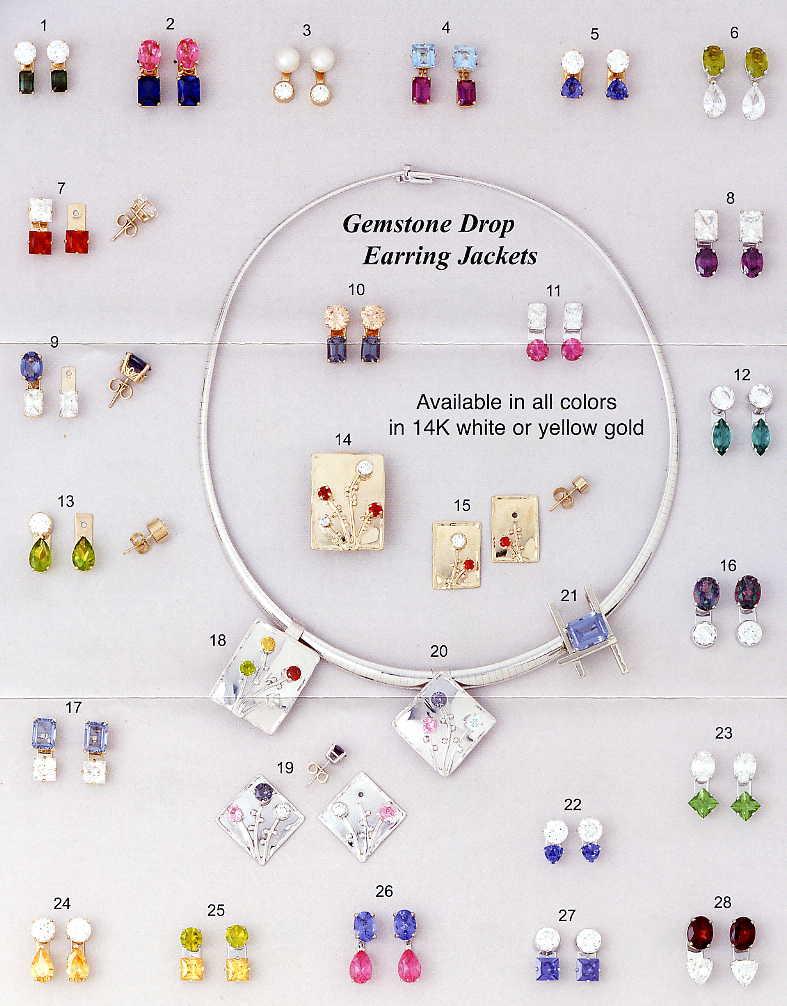 Earring Jackets Dangle